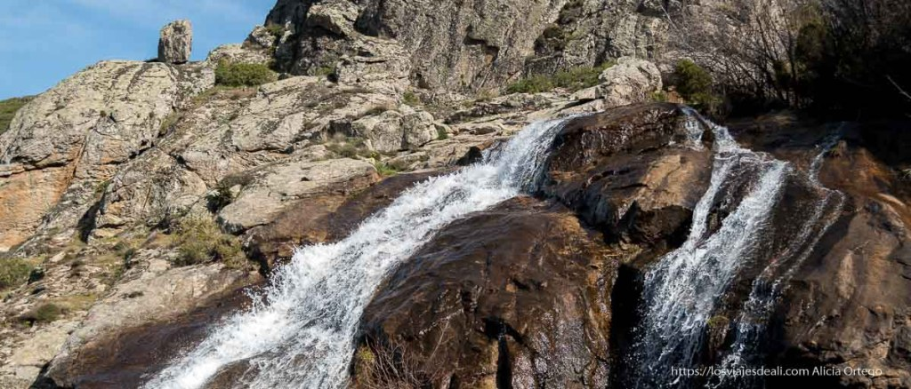 cascadas en la comunidad de madrid