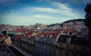 Vistas del mirador de Santa Justa | Que ver en Lisboa