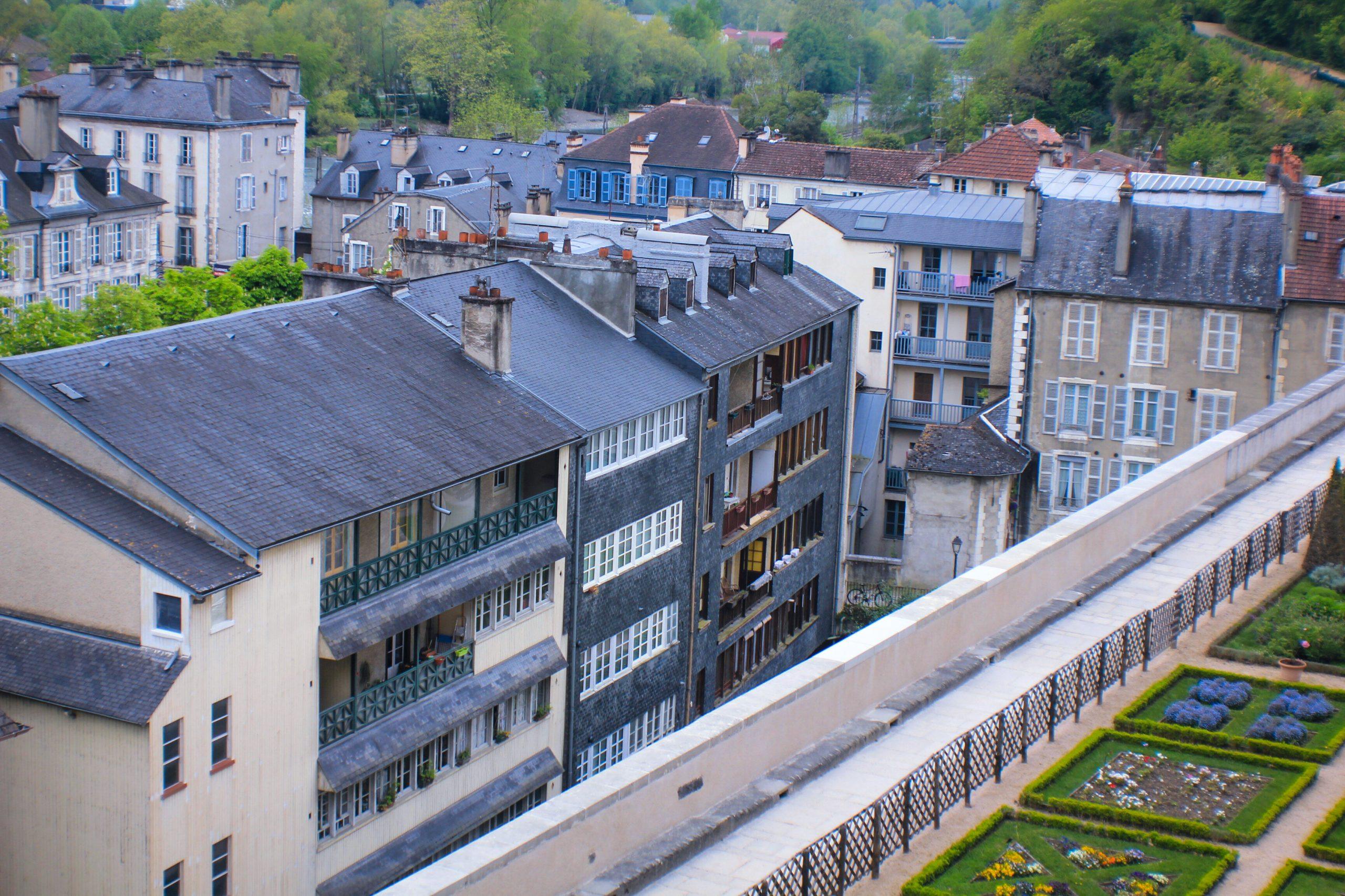Jardines del Castillo de Pau y sus vecinos - Que ver en Pau