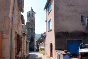 Najac, pueblo bonito del Sur de Francia