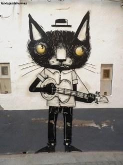 El gato de la guitarra
