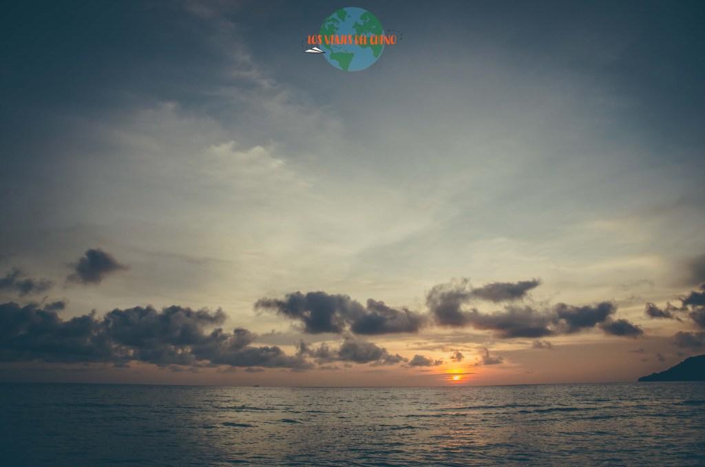 Islas de Koh rong en Camboya