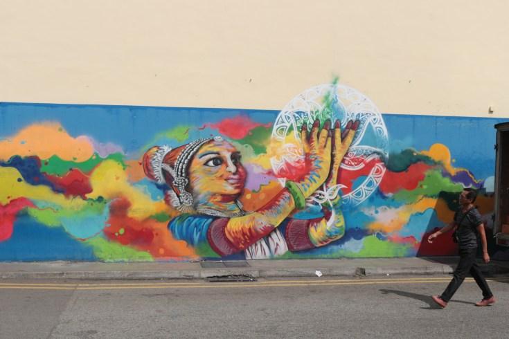 Graffitis en Singapur