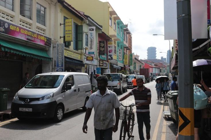 calle típica singapur