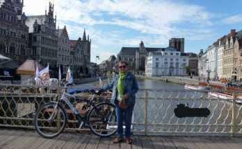 Visitando los Canales de Gante
