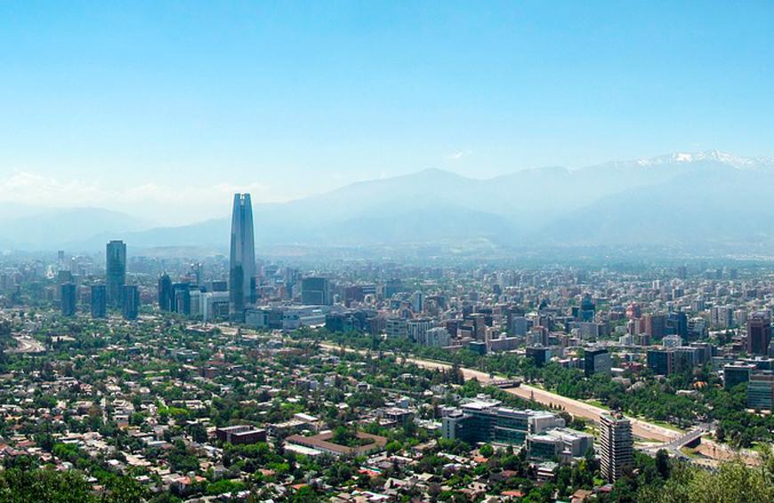 La mejor bienvenida – Santiago de Chile