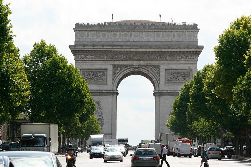 Parte 3: Arcos triunfales