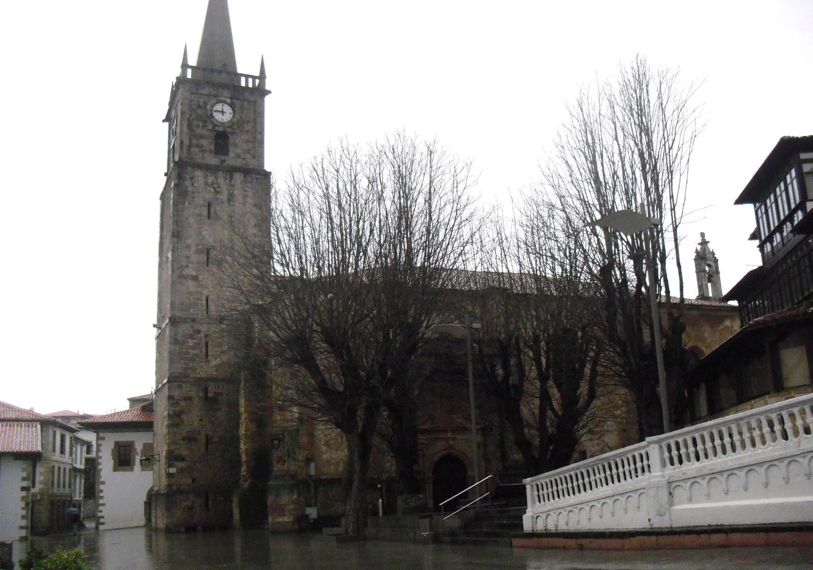 Iglesia de San Cristobal en Comillas 1