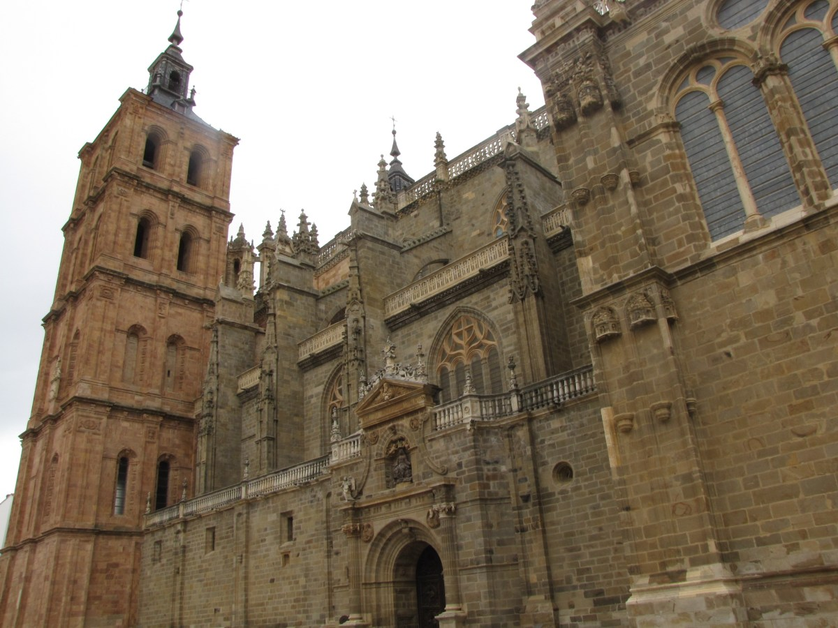 -Catedral de Santa María en Astorga-
