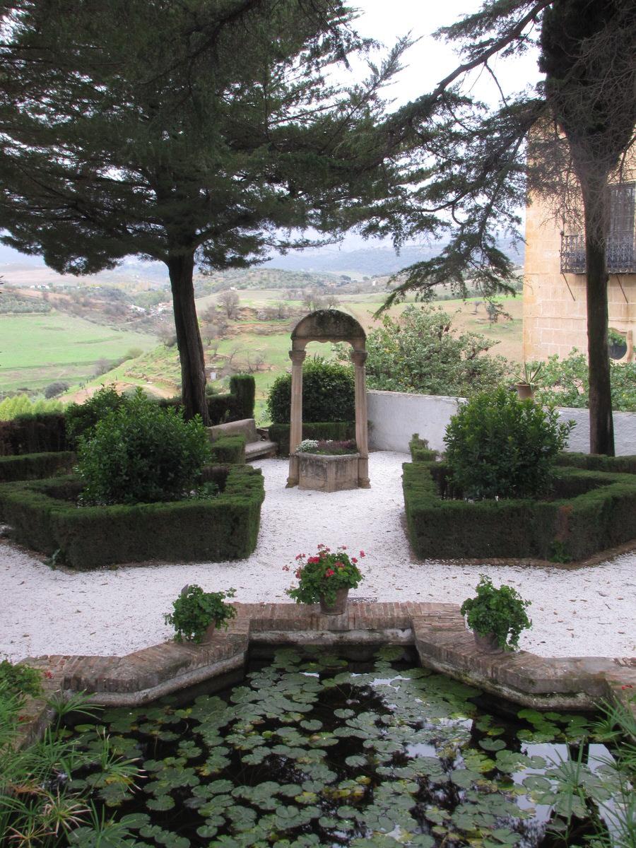 -Jardines Palacio del Rey Moro, Ronda-