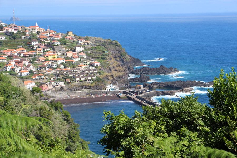 Porto Moniz. Madeira