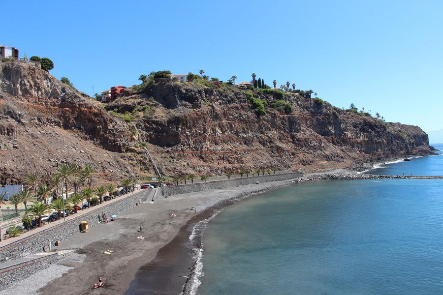 Playa de la Cueva, San sebastián de la Gomera