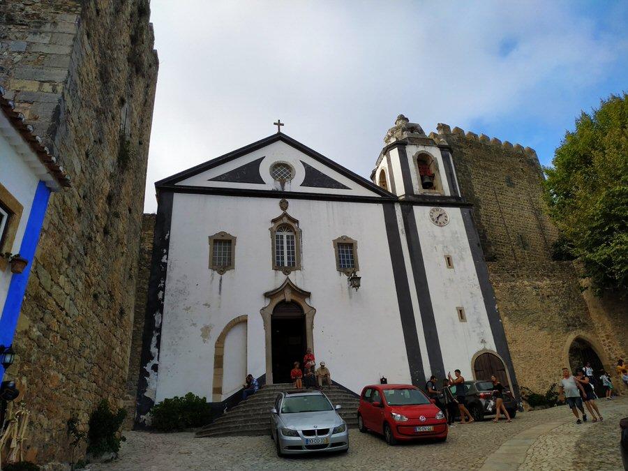 -Iglesia de Santiago, Óbidos-