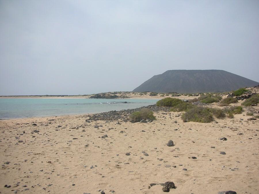 Playa de la Concha. Isla de lobos.