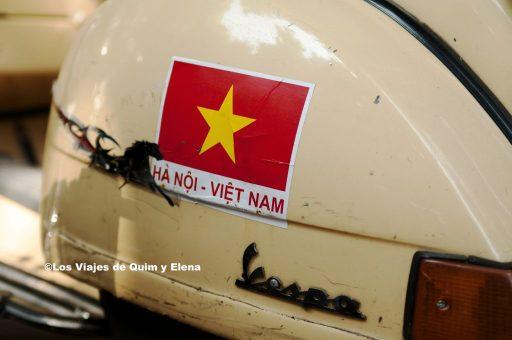 Vespa en Vietnam