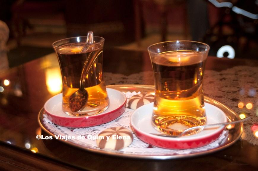 Té de manzana en nuestro viaje a Turquía