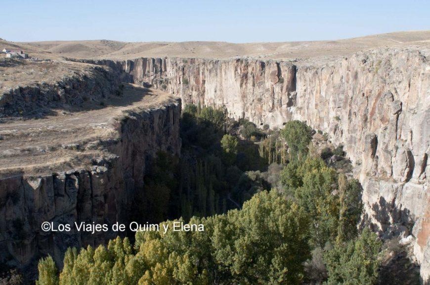 El Valle de Ilara - Ciudad subterránea de Derinkuyu