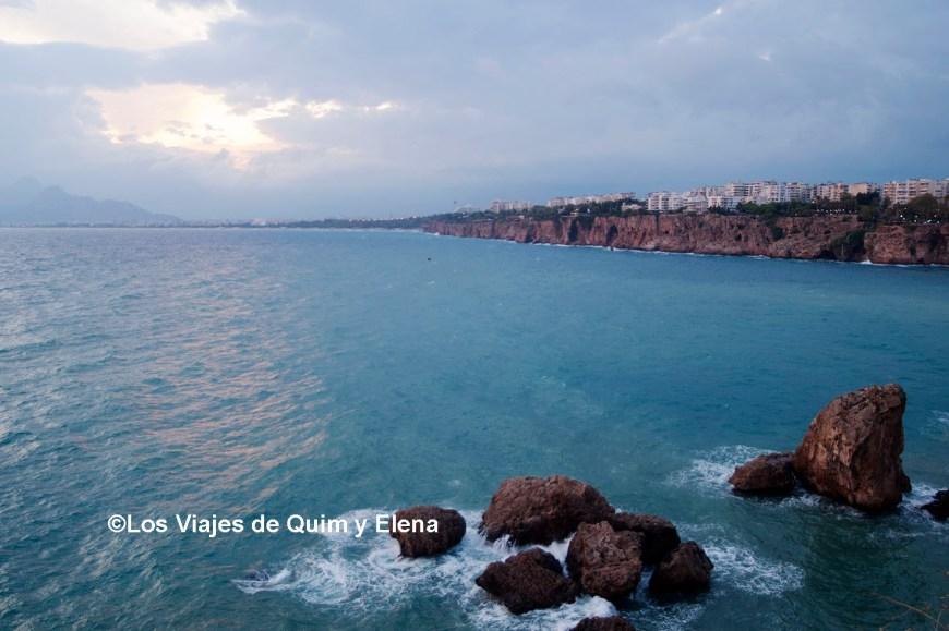 Atardecer en Antalya