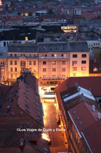 Vistas desde la torre, visitar Zagreb