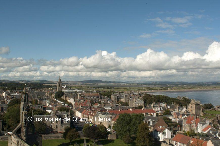 Vistas desde St Rule's Tower
