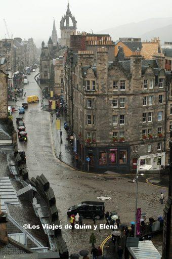 Llueve en Edimburgo