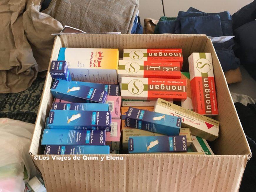 Caja con los medicamentos de Trip Drop