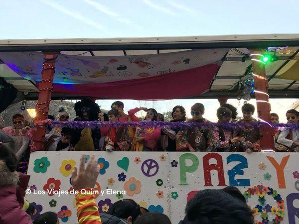 La Rua de la tarde en la cabalgata de Carnaval de Mallorca