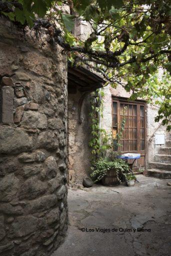 Un rincón dentro del pueblo de Mura