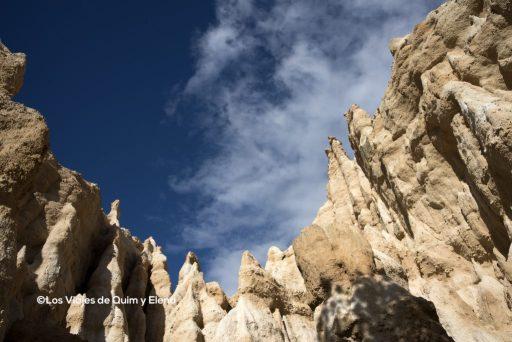 La formas recuerdan a La Capadocia