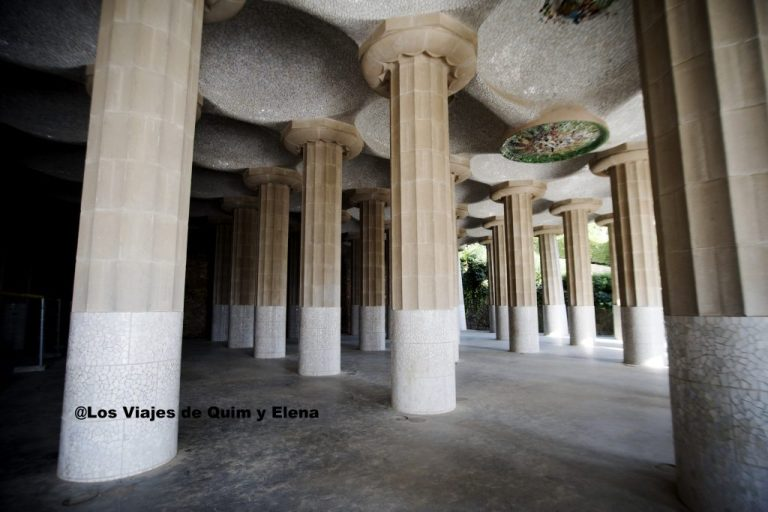 Sala Hipóstila del Park Güell