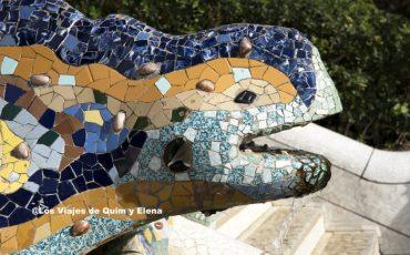 El famoso Dragón del Park Guell