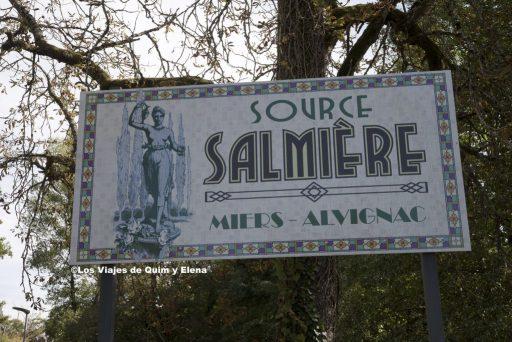 Entrada a Source Salmière