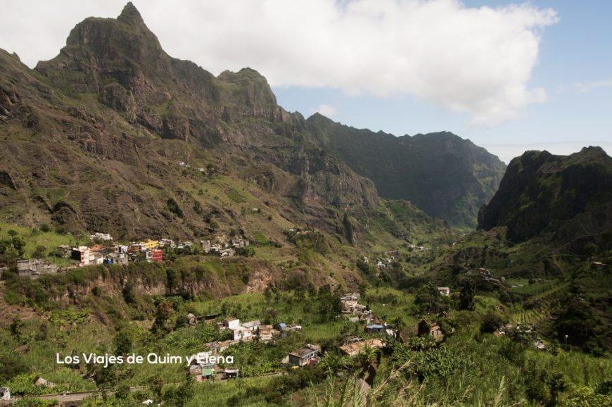 El Valle de Paul desde el inicio de nuestra ruta
