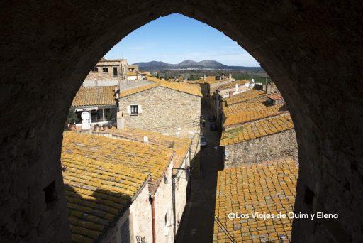 Vista desde la Torre de las horas en Palau Sator