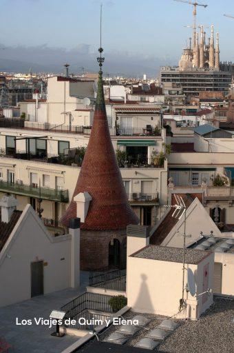 Vistas desde la torre principal