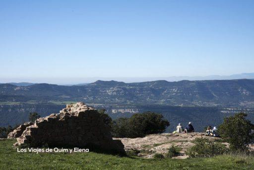 Vista desde la Ermita de Tagamanent