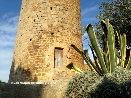 Lo que queda del Castillo de Pals