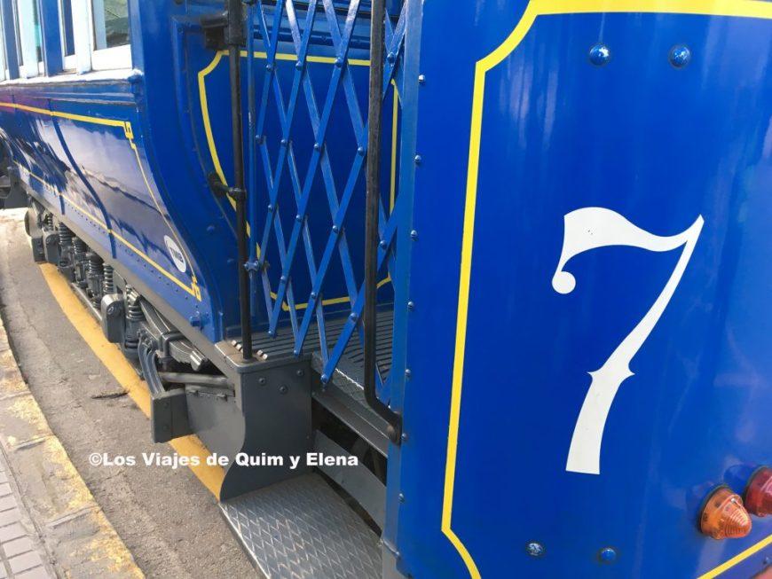 Tranvía blau