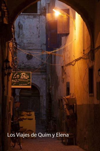 Essaouira de noche