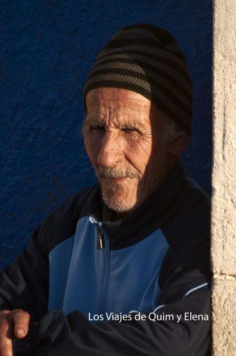 Anciano en Essaouira