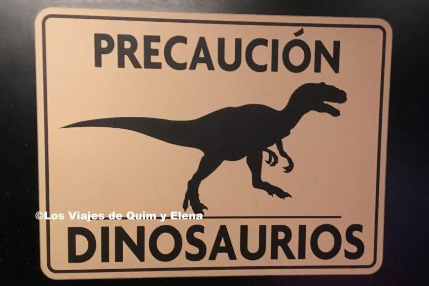 Cuidado con los dinosaurios