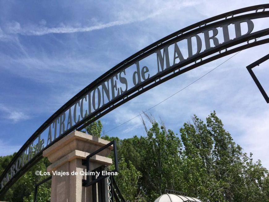 Entrada al Parque de Atracciones de Madrid