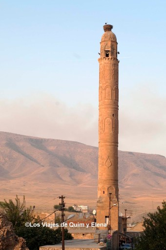 Minarete de la Mezquita El Rizk