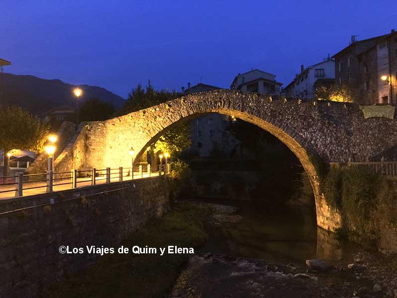 Pont Vell de La Pobla de Lillet