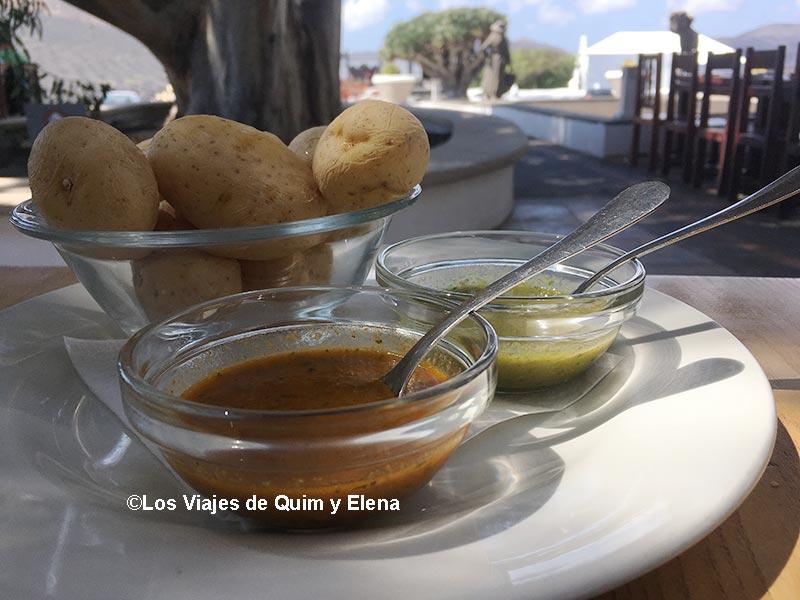 Papas arrugadas - 8 Restaurantes de Lanzarote