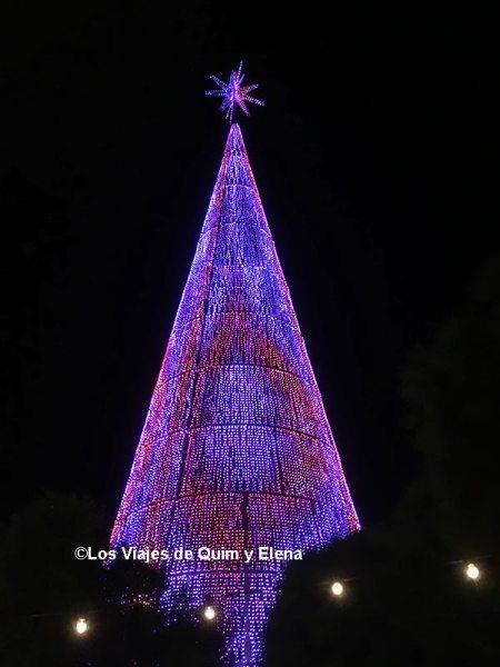 El súper árbol de Navidad