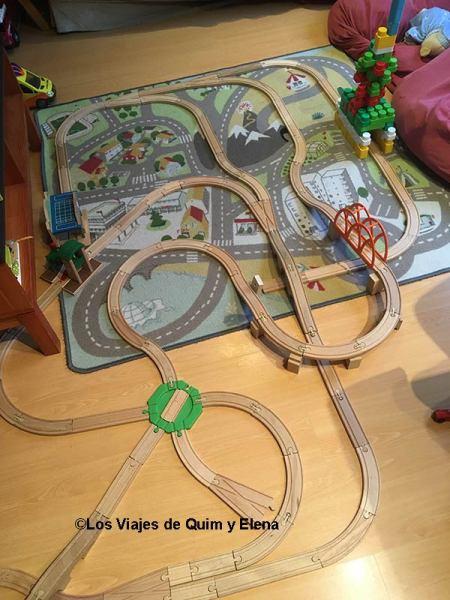 Pistas de trenes para estar entretenidos en confinamiento en Familia