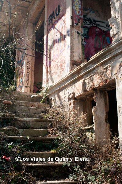 Casa de citas en Collserola uno de los lugares abandonados