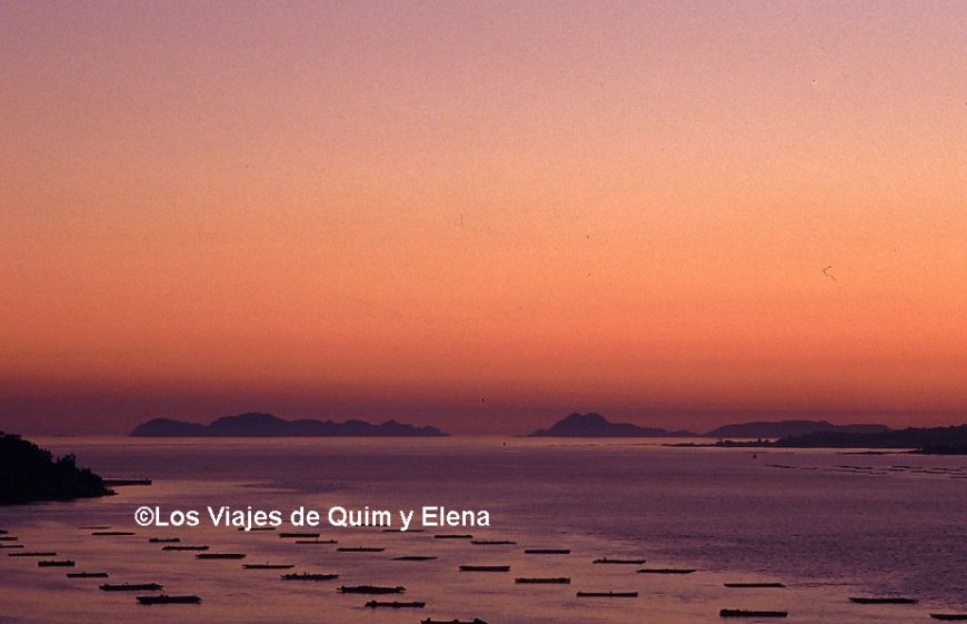 Ría de Vigo en Pontevedra