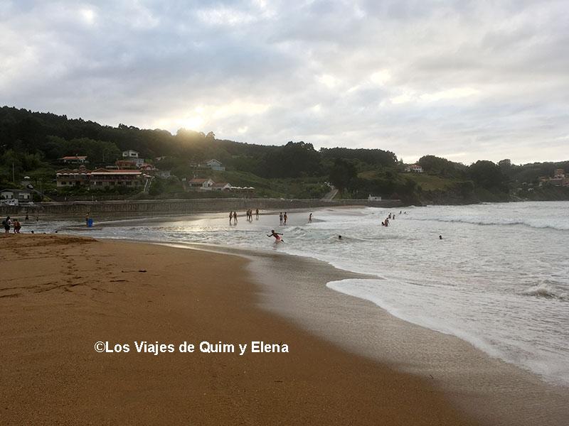 Playa de la Griega, Playas de Asturias